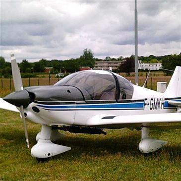 Vol d'initiation au Pilotage d'Avion près de Meaux