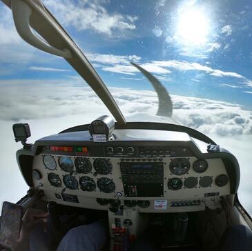 Pilotage avion, département Seine et marne