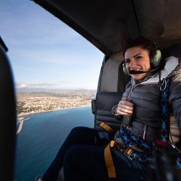Aérodrome du Castellet, Var (83) - Baptême de l'air hélicoptère