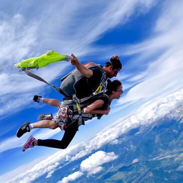 Saut en parachute Tandem à Gap Tallard