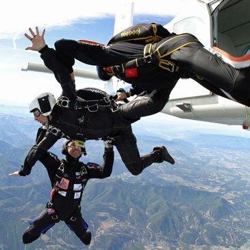 Stage parachute (PAC), département Hautes Alpes