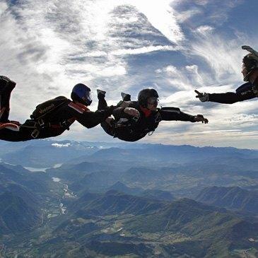 Stage parachute (PAC) en région Provence-Alpes-Côte d'Azur et Corse