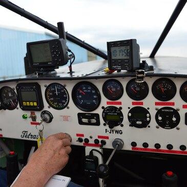 Baptême en ULM et Autogire proche Aérodrome de Nangis Les Loges