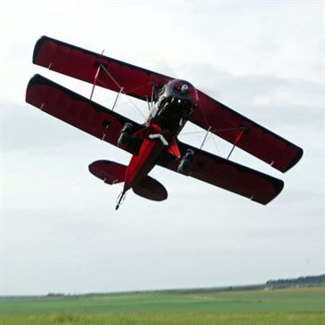 Pilotage d'ULM Biplan près de Sens