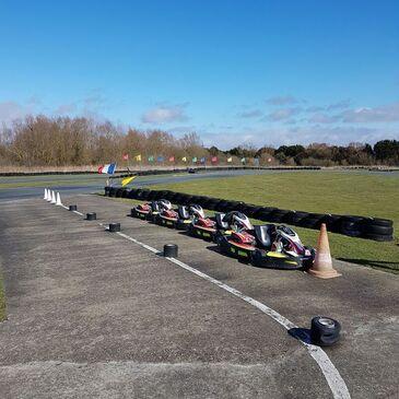 Stage de pilotage Karting (demi-journée) en région Nord-Pas-de-Calais