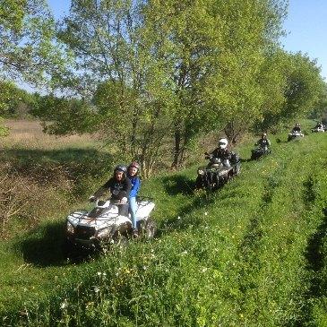 Randonnée en quad (Gard)