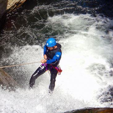 Descente Sportive du Canyon de Taurinya à Perpignan