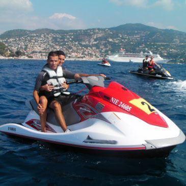 Randonnée en jet ski (Côte d'Azur)
