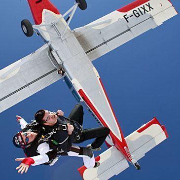 Saut en Parachute Tandem à La Réole