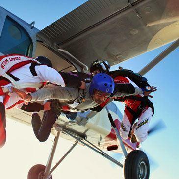 Saut d'Initiation en Parachute près de Bordeaux
