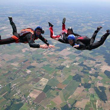 Stage PAC parachutisme (5 jours - Près de Bordeaux)