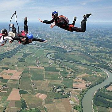 Stage Parachutisme PAC, département Gironde
