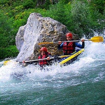 Rafting, département Alpes Maritimes