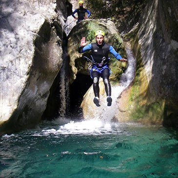 Canyoning en région Provence-Alpes-Côte d'Azur et Corse
