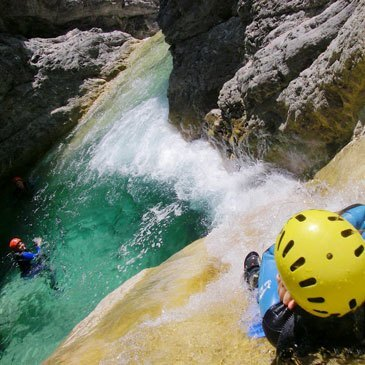 Breil-sur-Roya, Alpes Maritimes (06) - Canyoning