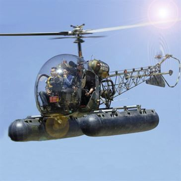 Vol initiation au pilotage en hélicoptère Royan