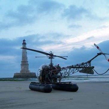 Stage initiation hélicoptère, département Charente maritime