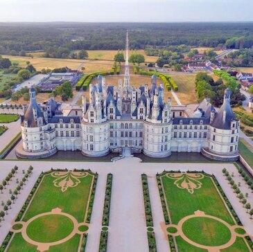 Vol en ULM Multiaxe - Survol des Châteaux de la Loire