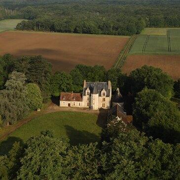 Vol en ULM Multiaxe - Survol des Châteaux de la Loire en région Centre