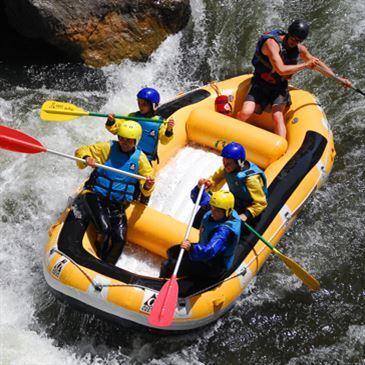 Rafting sur l'Aude près de Carcassonne