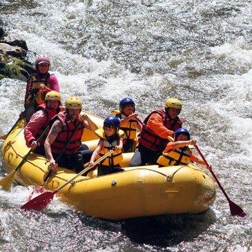 Rafting, département Aude
