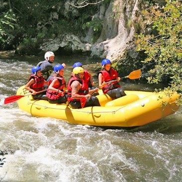 Quillan, entre Carcassonne et Perpignan, Aude (11) - Rafting