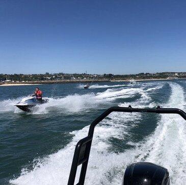 Jet ski Scooter des mers, département Finistère