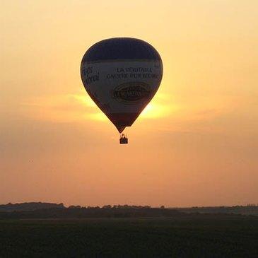 Aérodrome de Vitry-en-Artois, Pas de calais (62) - Baptême de l'air montgolfière