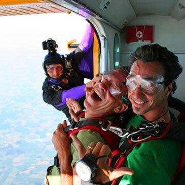 Saut en parachute en région Midi-Pyrénées