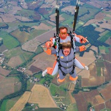 Aérodrome du Herret, Gers (32) - Saut en parachute