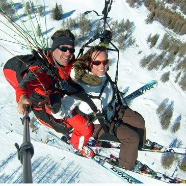 Réserver Parapente à Ski en Provence-Alpes-Côte d'Azur et Corse
