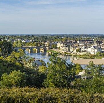 Vol en montgolfière au Château de Saumur
