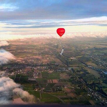 Baptême de l'air montgolfière proche Saumur