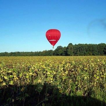 Baptême de l'air montgolfière en région Pays-de-la-Loire