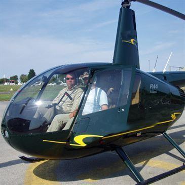 Vol d'initiation au pilotage en hélicoptère