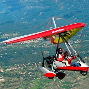 Pilotage d'ULM Pendulaire ou Multiaxe à Gap