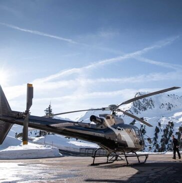 Stage initiation hélicoptère, département Haute savoie