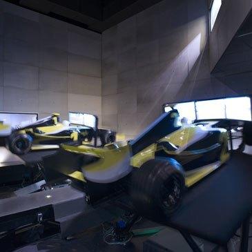 Simulateur de Pilotage Auto, département Rhône