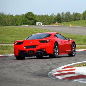 Stage Pilotage Ferrari en région Bourgogne