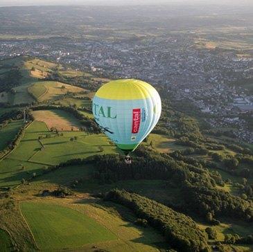 Baptême de l'air montgolfière en région Auvergne