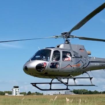 Réserver Baptême de l'air hélicoptère département Pyrénées atlantiques