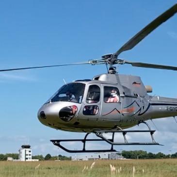 Vol d'initiation au pilotage en hélicoptère Biarritz