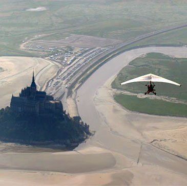 Pilotage ULM en région Basse-Normandie