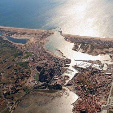 Saut en parachute, département Aude