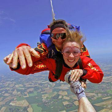 Saut parachute en tandem (Castres)