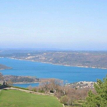 Moustiers-Sainte-Marie, Alpes de Haute Provence (04) - Baptême de l'air montgolfière