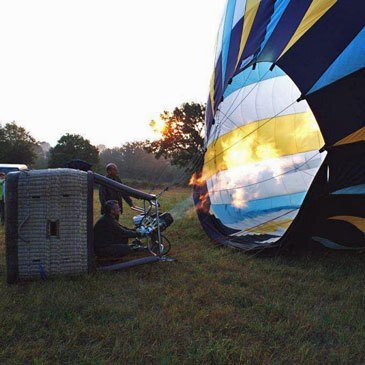 Baptême de l'air montgolfière, département Ain