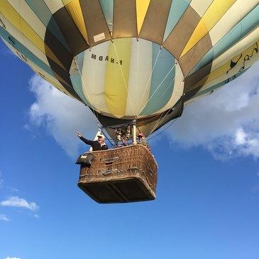 Marlieux, Ain (01) - Baptême de l'air montgolfière