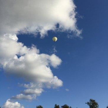 Baptême de l'air montgolfière proche Marlieux