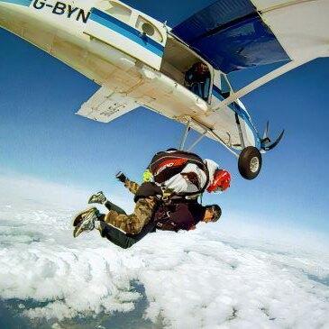 Saut parachute en tandem (Pau)